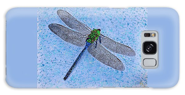 Galaxy Case featuring the painting Dragonfly by Deborah Boyd