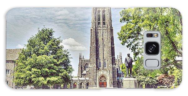 Duke Chapel In Spring Galaxy Case