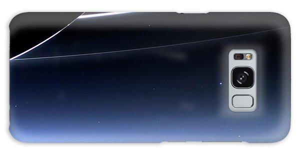 Earth And Moon From Saturn Galaxy Case