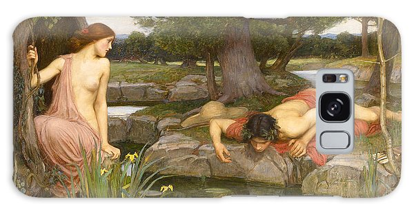 Echo And Narcissus Galaxy Case by John William Waterhouse