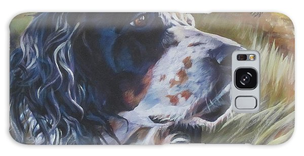 Pheasant Galaxy S8 Case - English Setter by Lee Ann Shepard