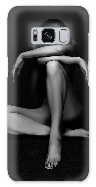 Sitting Nude Galaxy Case - Eszter by Jozef Kiss