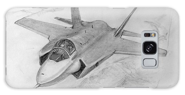 F-35 Joint Strike Fighter Galaxy Case by Jim Hubbard