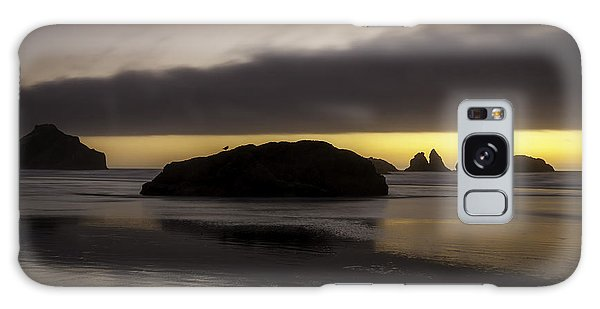 Face Rock Bandon By The Sea Galaxy Case