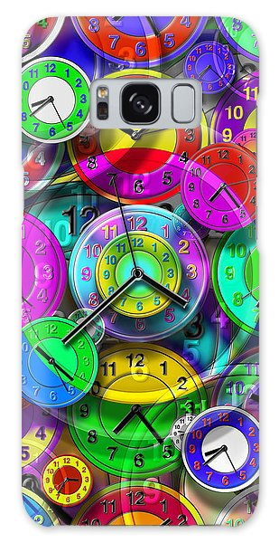Hundred Galaxy Case - Faces Of Time 1 by Mike McGlothlen