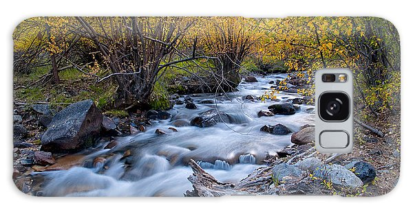 Fall At Big Pine Creek Galaxy Case