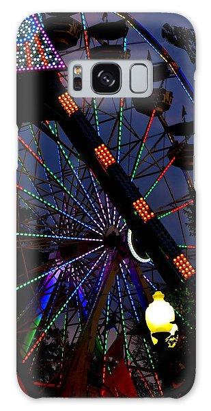 Fall Festival Ferris Wheel Galaxy Case