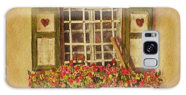 Farm Window Galaxy Case by Mary Ellen Mueller Legault