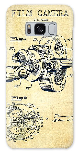 Vintage Camera Galaxy Case - Film Camera Patent Drawing From 1938 by Aged Pixel