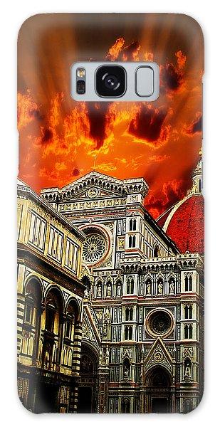 Firenze La Cattedrale Di Santa Maria Del Fiore - Florence The Cathedral Of Santa Maria Del Fiore Galaxy Case