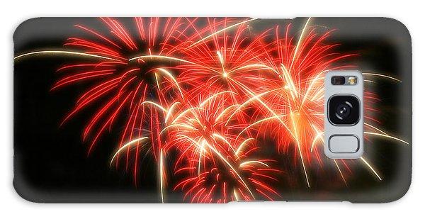 Fireworks Over Kauffman Stadium Galaxy Case