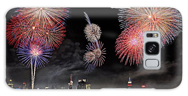 Fireworks Over New York City Galaxy Case