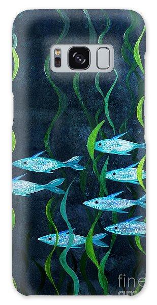 Fish Galaxy Case by Barbara Moignard