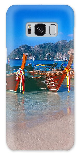 Phi Phi Island Galaxy Case - Fishing Boats In The Sea, Phi Phi by Panoramic Images