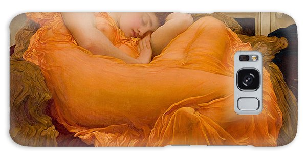 Flaming June Galaxy Case