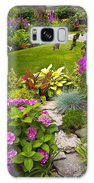 Flower Garden Galaxy Case