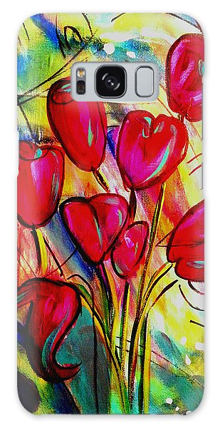 Flowers For M Galaxy Case