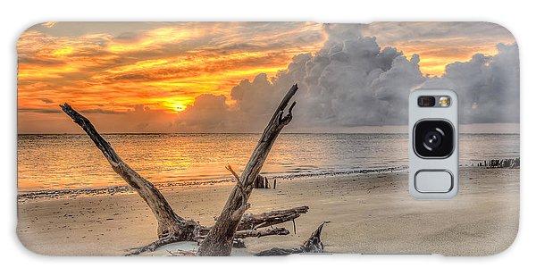 Folly Beach Driftwood Galaxy Case