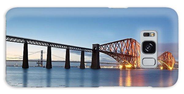 Forth Rail Bridge Galaxy Case by Stephen Taylor