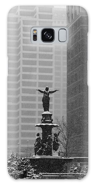 Fountain Square Galaxy Case by Scott Meyer