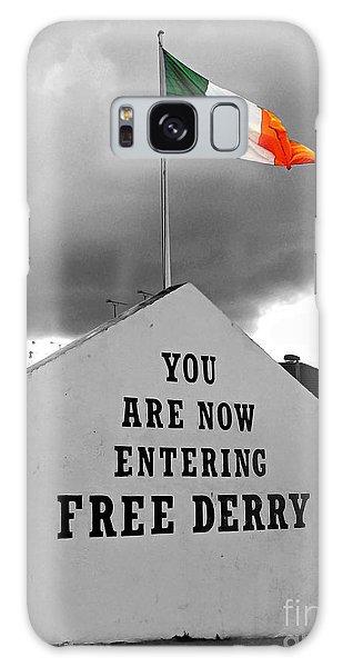 Free Derry Wall Galaxy Case by Nina Ficur Feenan