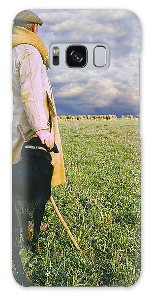 French Shepherd Galaxy Case