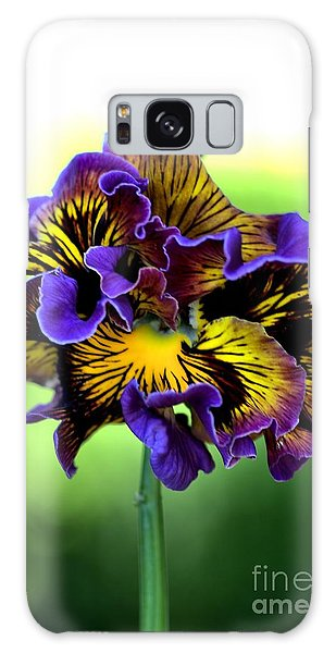 Frilly Pansy Galaxy Case by Joy Watson