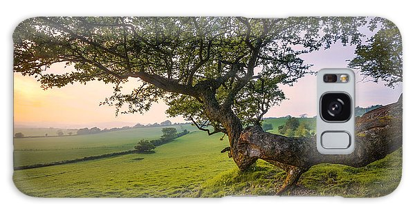 English Countryside Galaxy Case - Garden Of England.  by Ian Hufton