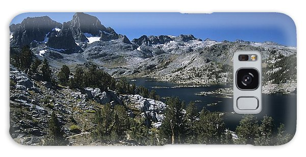 Garnet Lake And Banner Peak Galaxy Case