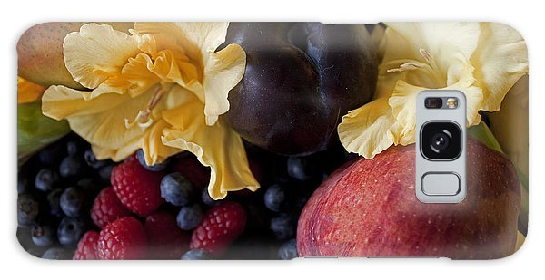 Gladiolus And Fruits Galaxy Case by Ivete Basso Photography