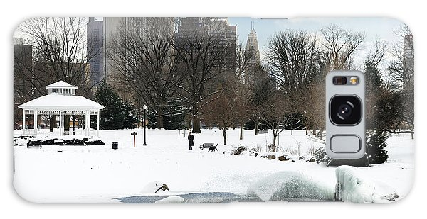D48l3 Goodale Park Photo Galaxy Case