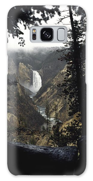 Grand Canyon Of The Yellowstone-signed Galaxy Case