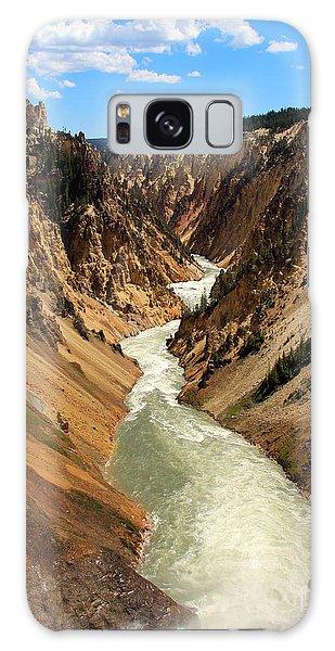 Grand Canyon Of Yellowstone Galaxy Case
