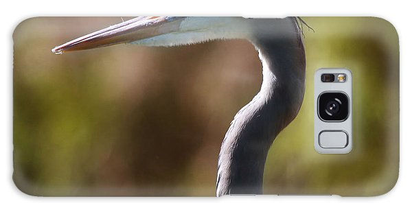 Great Blue Heron Galaxy Case by Joseph G Holland
