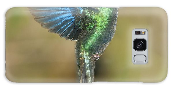 Great Sapphirewing Hummingbird Galaxy Case