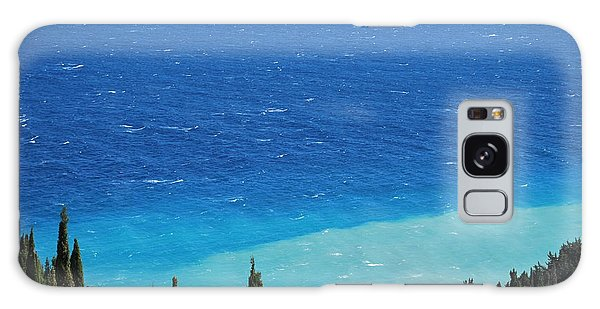 green and blue Erikousa Galaxy Case