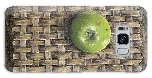 Green Apple On Basket Galaxy Case