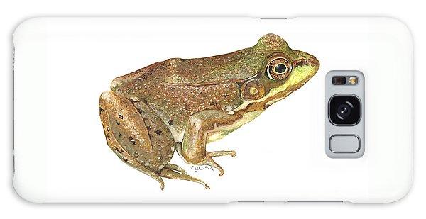 Green Frog Galaxy Case