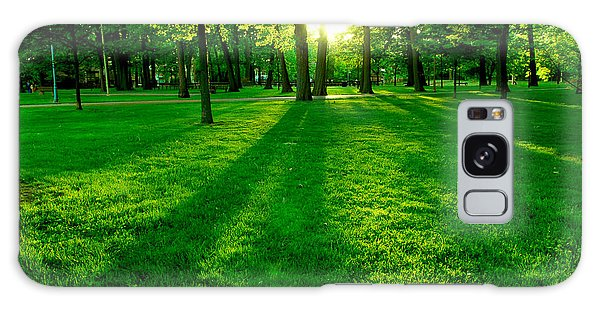 Beautiful Park Galaxy Case - Green Park by Elena Elisseeva