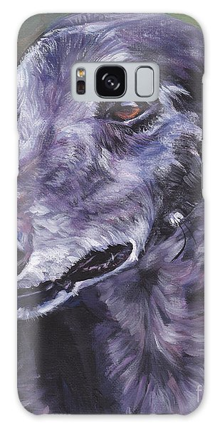Sighthound Galaxy Case - Greyhound by Lee Ann Shepard