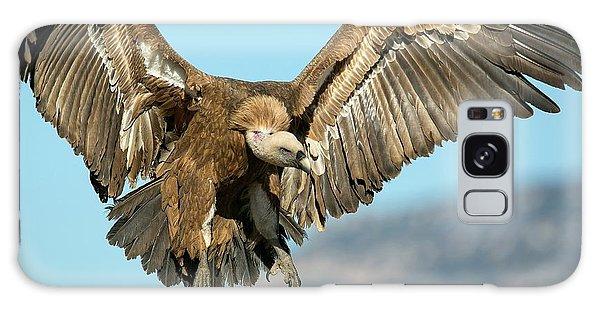 Griffon Vulture Flying Galaxy Case by Nicolas Reusens