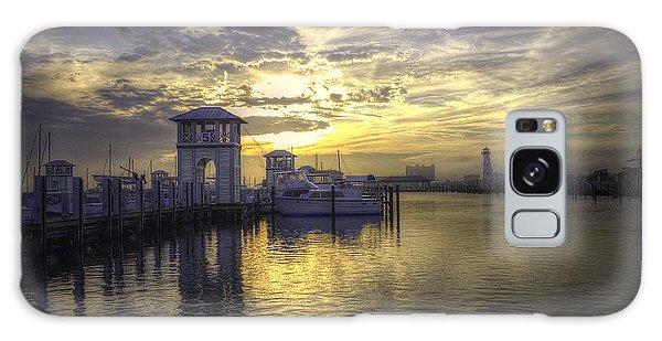 Gulfport Harbor Galaxy Case