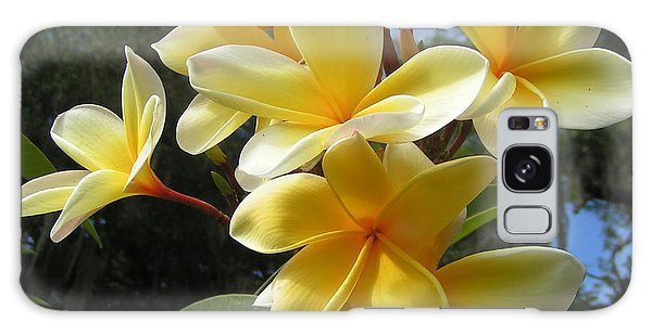 Hawaiian Flowers Galaxy Case