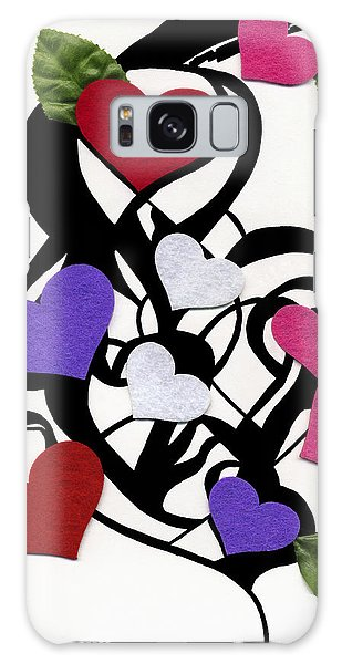 Heart Felt Galaxy Case