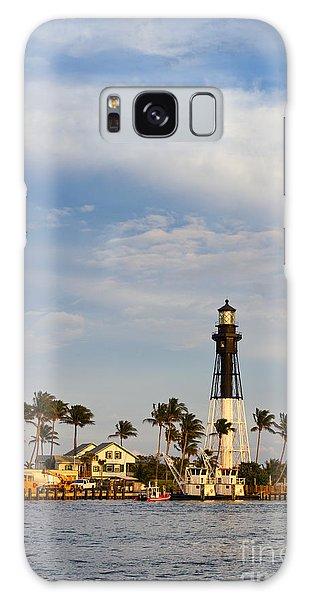Hillsboro Inlet Lighthouse Galaxy Case