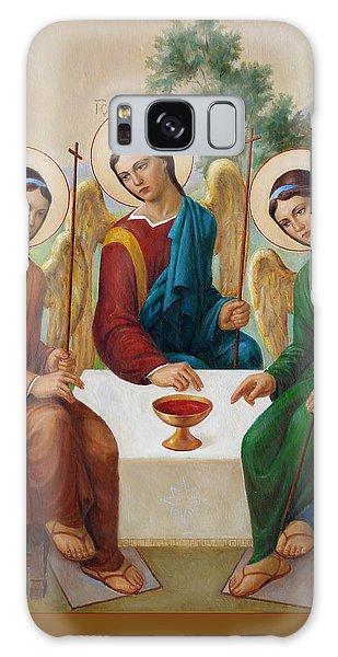 Holy Trinity - Sanctae Trinitatis Galaxy Case by Svitozar Nenyuk