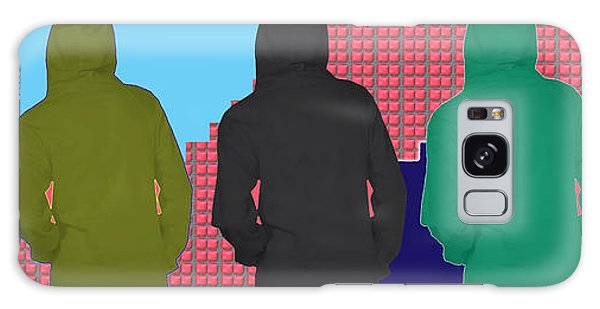 Hoodie Gang Graffiti Fashion Background Designs  And Color Tones N Color Shades Available For Downlo Galaxy Case