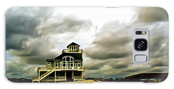 House At The End Of The Road Galaxy Case