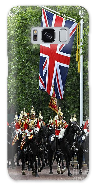Household Cavalry Life Guards Galaxy Case