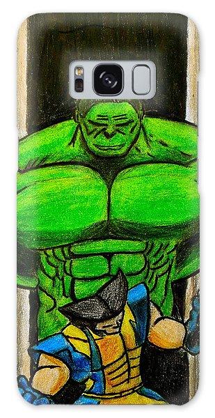 Hulk Vs Wolverine Galaxy Case